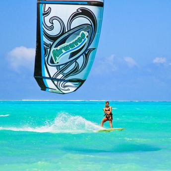 Visuel Séjour kitesurf COACHING à Zanzibar sur Paje Beach